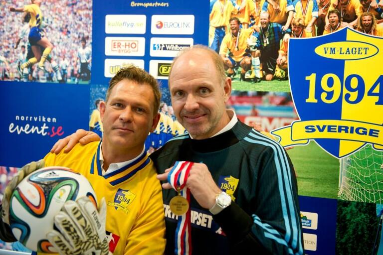 Pontus Kåmark och Thomas Ravelli är två av de profiler som hjälpt Tvärred/Vegby att slå rekord.