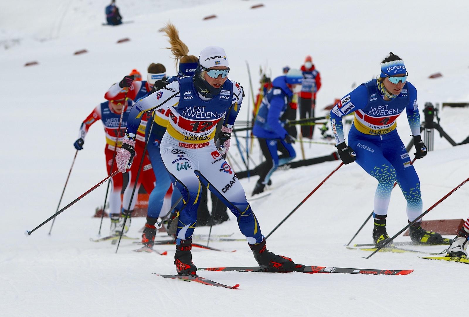 Världscupen i Ulricehamn 2021TeamsprintJonna Sundling
