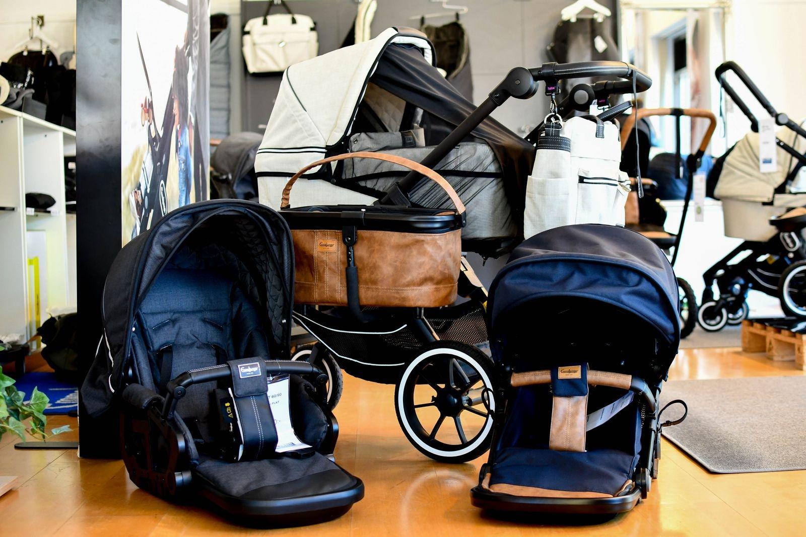 Babyhörnan ger även proffsråd vid valet av barnvagn NXT 60, 90 och Twin. Vagnar av det svenska märket Emmaljunga har sålts i huset i snart 70 år.