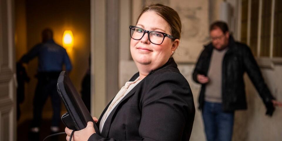 Vice chefsåklagare Marie Lindström yrkade på villkorlig dom och dagsböter.