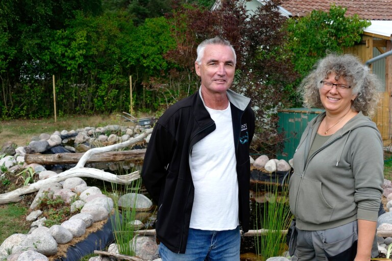"""Föreningen byggde en regnvattendamm: """"Lagt 500 timmar"""""""