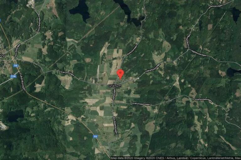 94 kvadratmeter stort hus i Gränum, Olofström sålt för 725000 kronor