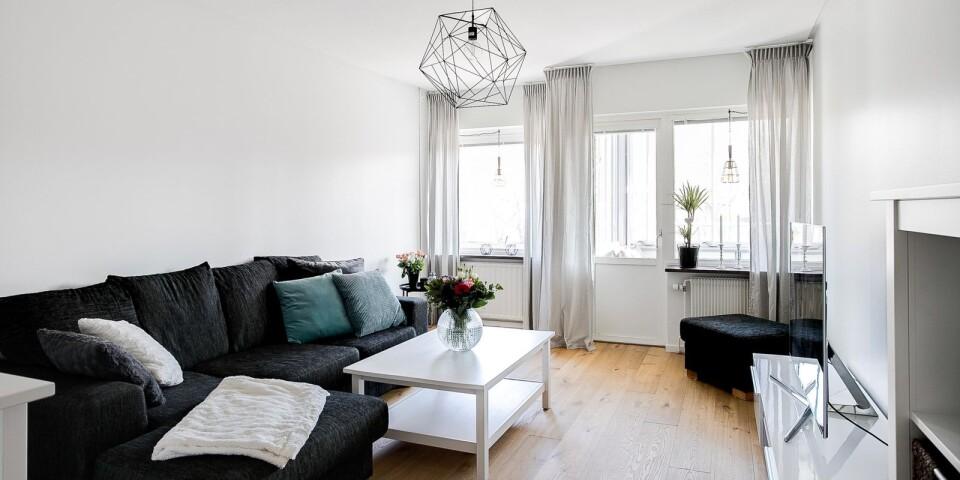 3. Stallgärdsgatan 4B, Skälby, Kalmar. Boyta: 56,5 kvadratmeter. Utropspris: 990 000 kr.