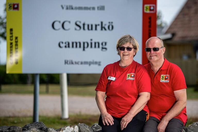 På Sturkö jobbar Anja och Jörgen för gemenskapen