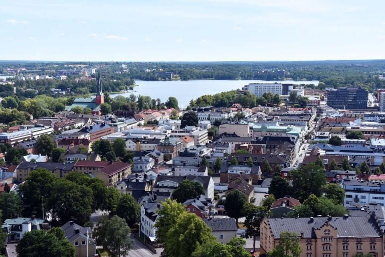 Butik stänger i centrala Växjö