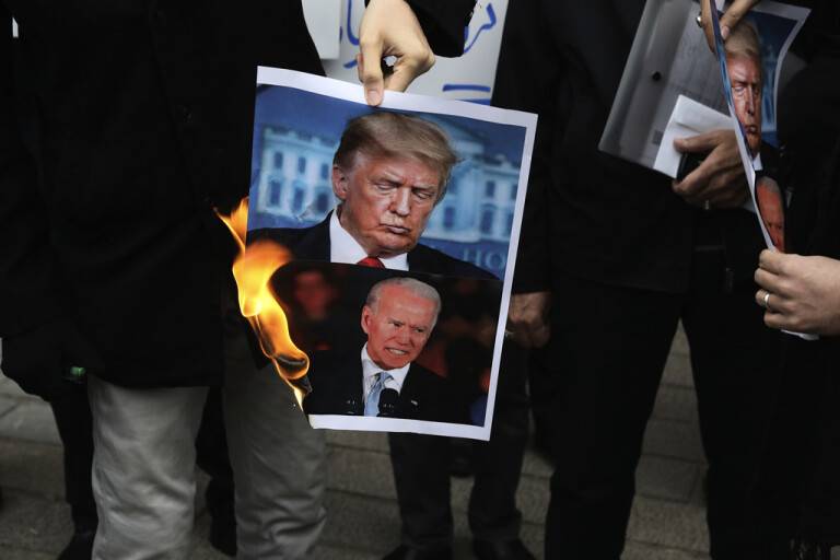 "Pandemipressad Biden ""måste hantera Iran"""