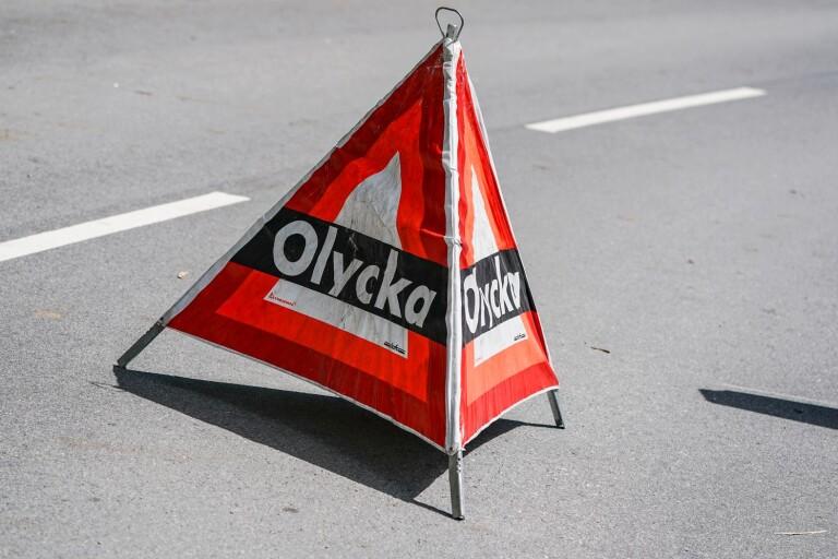 Olycka: Dubbla trafikolyckor på riksväg 27 – skapade totalstopp