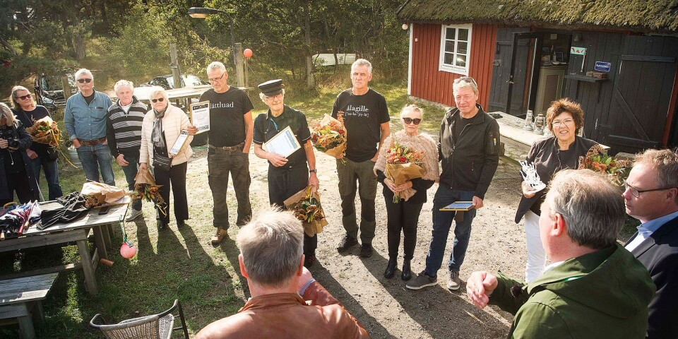 The Golden Jubilee Gala was cancelled this year. It was, therefore, a smaller ceremony where the eel fishermen were handed their awards at Tvillingaboden.