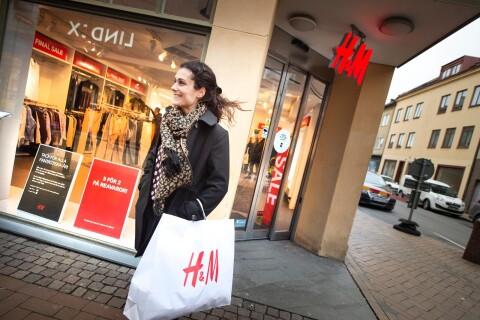 """Slutsålt för H&M i stadskärnan: """"Det är tråkigt"""""""