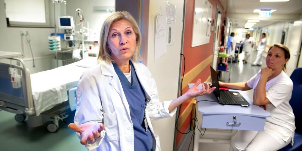 Överläkaren Olga Sashchaya har varit med om många förändringar under sina elva år på sjukhuset.