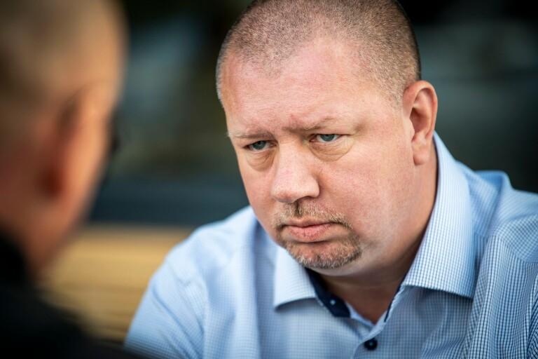 Roger Fredriksson moderat politiker kommunalråd Ronneby