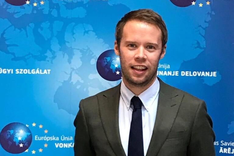 Michael från Jämjö ska jobba för EU i Kabul