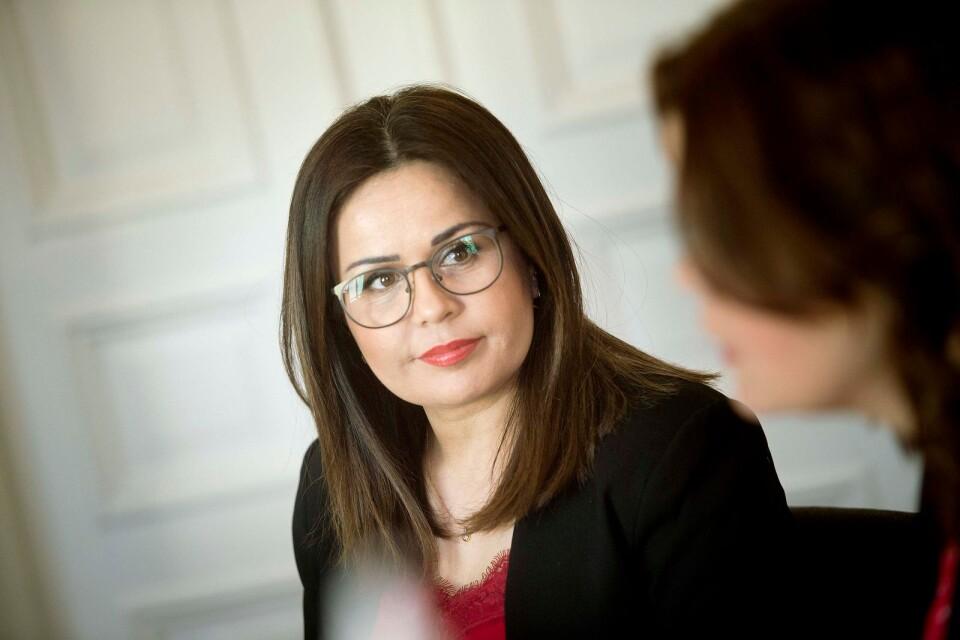 Iman Borgström har stort intresse för utsatta kvinnor och barn. När hon blir färdig advokat vill hon jobba med de frågorna.