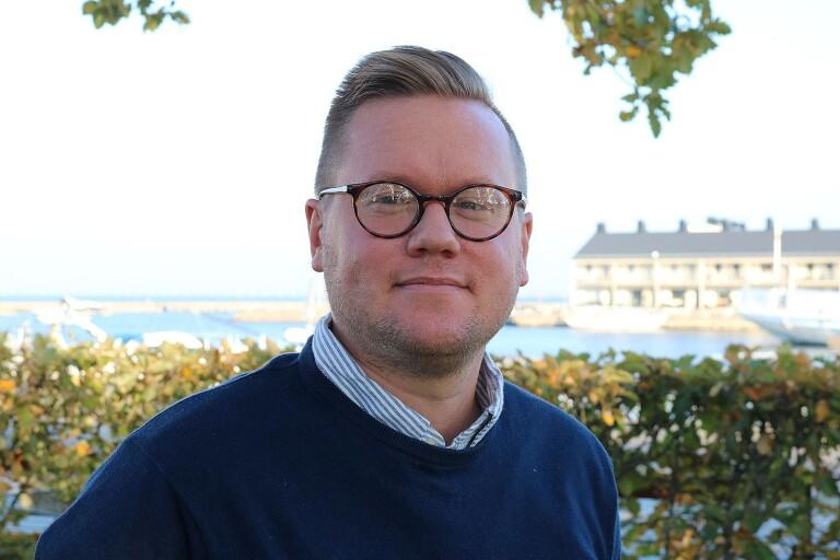 Carl Dahlin, Oppositionsråd, vice ordf personalutskottet i Region Kalmar.