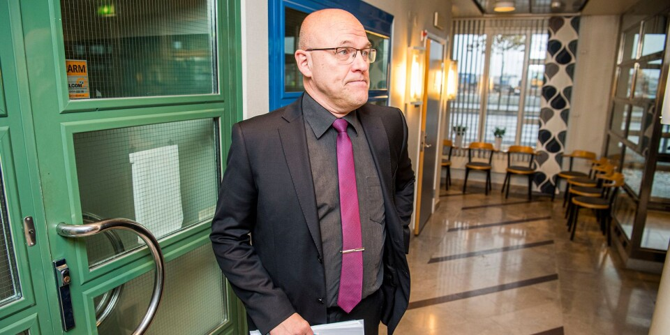 """""""Detta är den största och mest omfattande utredning om grova bedrägerier som jag har hört talas om"""", säger kammaråklagare Kjell Jannesson."""