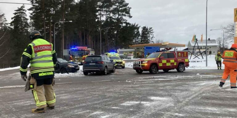 Flera olyckor i morgontrafiken – Trafikverket varnar för halka