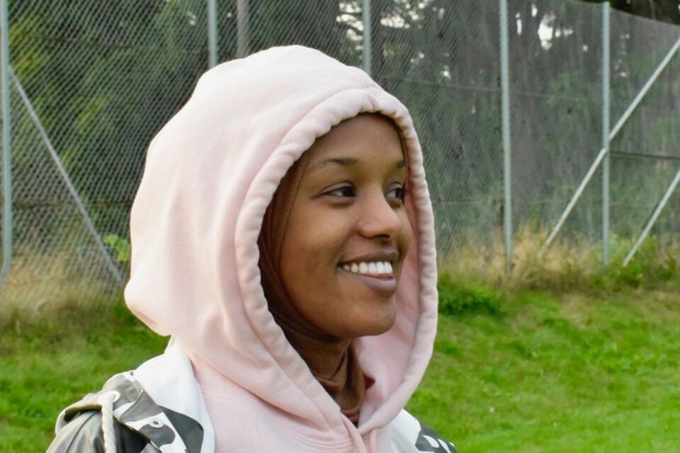 Yasmin  Mahammud, 25 år.