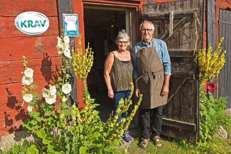 Välfyllda gårdsbutiker räddar sommarlunchen