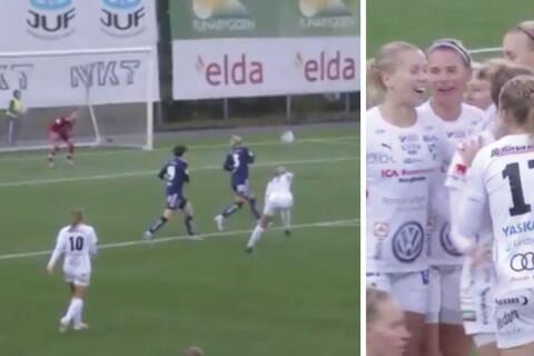 """TV: Se IFK Kalmars drömmål: """"Det är spiken i kistan"""""""