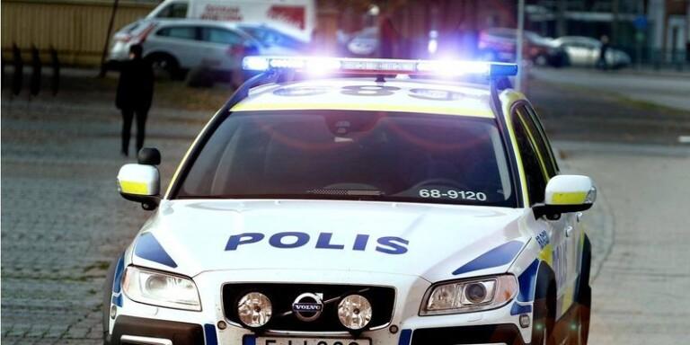 Inbrott på skola i Borås