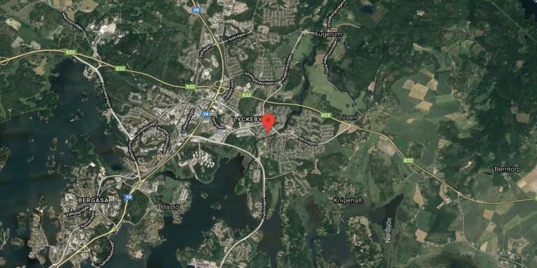 115 kvadratmeter stort hus i Lyckeby sålt för 3300000 kronor