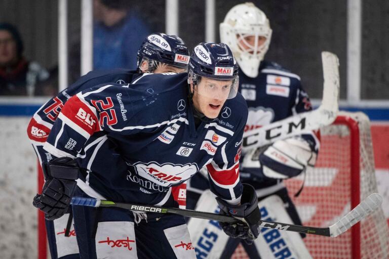 Sebastian Magnusson är klar för en säsong till i Krif.