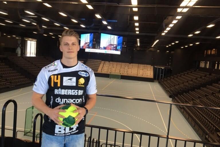 Viktor Ahlstrand ny i HIF  Karlskrona.