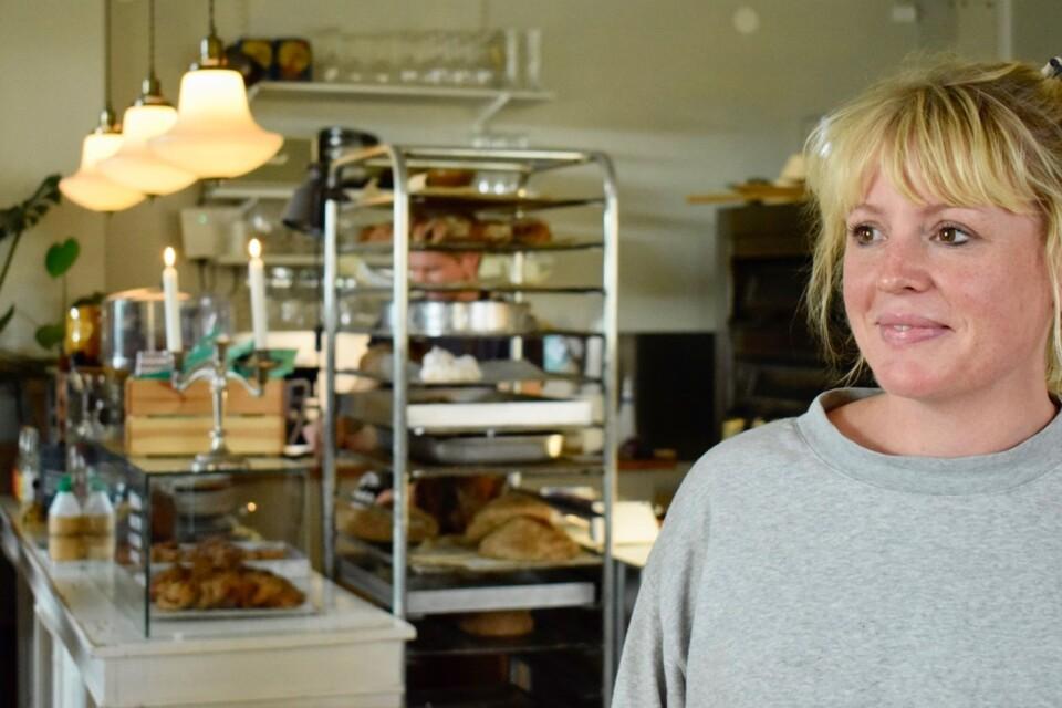 Anna Ekströmer, Kaffeterian Broby.