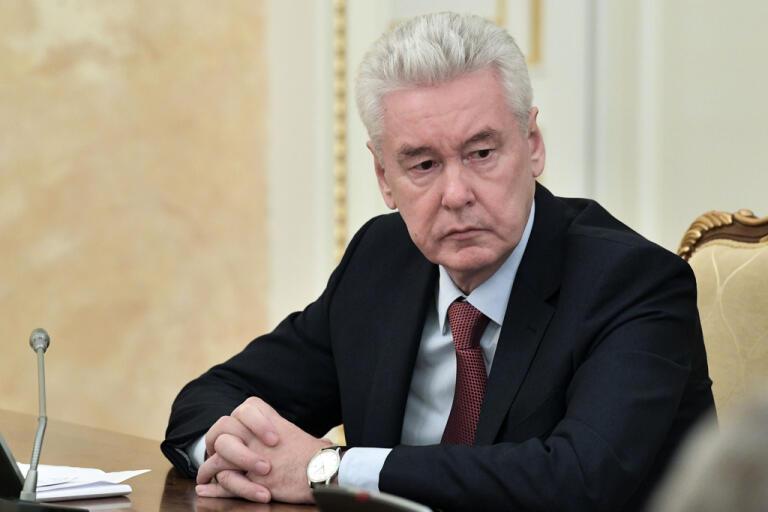 Sergej Sobjanin är Moskvas borgmästare. Arkivbild.