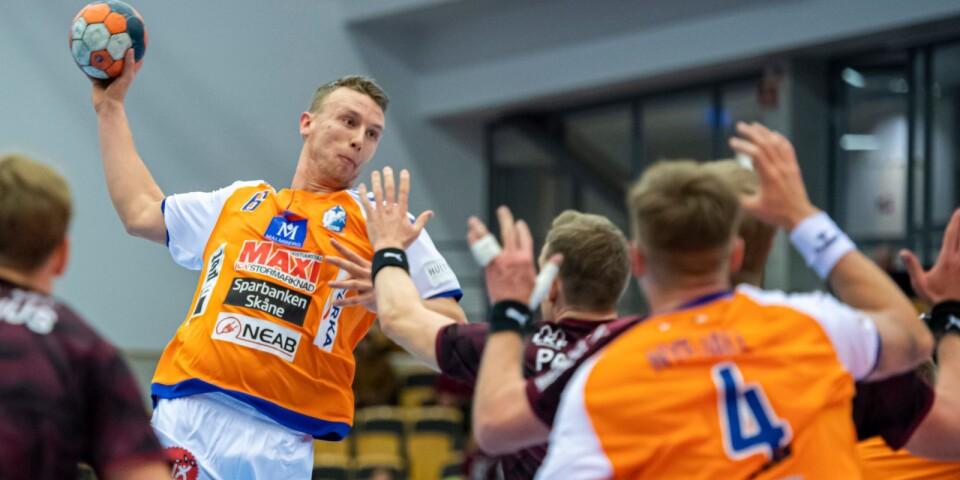 Philip Henningsson var en av flera spelare som imponerade mot Lugi.
