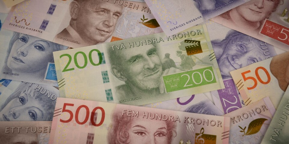 Polisen har hittat flera miljoner kronor på ett konto i Luxemburg som kan knytas till den svindlerimisstänkte affärsmannen från Karlskrona.