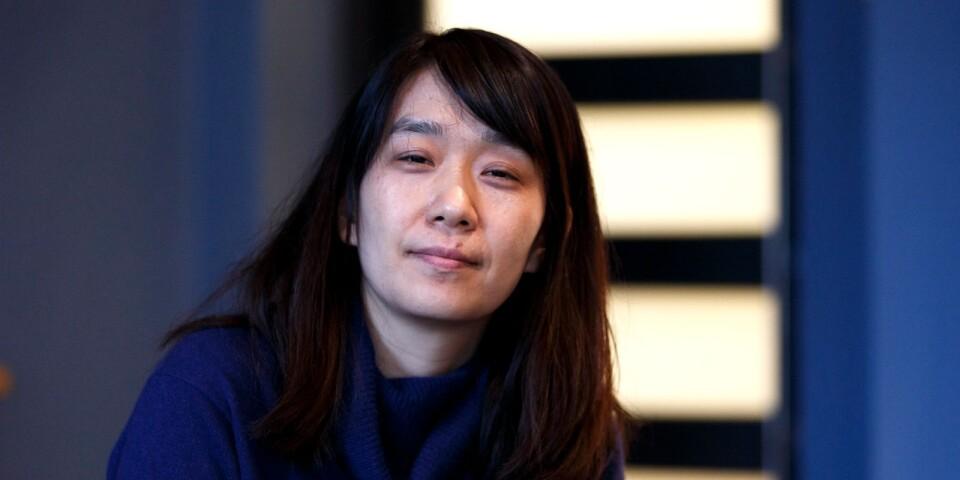 """Han Kang fick ett internationellt genombrott med """"Vegetarianen""""."""