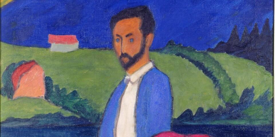 """Gabriele Münter: """"Kahnfahrt"""" (1910)"""