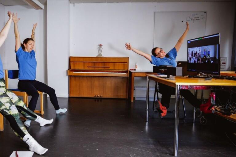 Digital dans ska öka välmåendet på demensboende