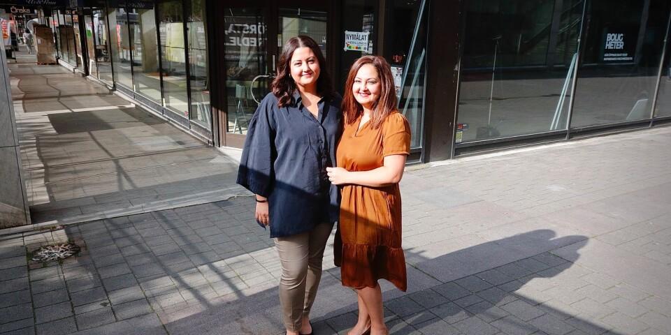 Systrarna Shari Minouiepour Wiklander och Maral Minouie Pour ska starta inredningsbutik i centrum.