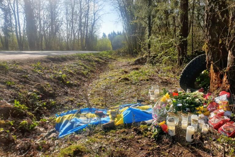 Efter olyckan: Tyst minut på Skansenskolan