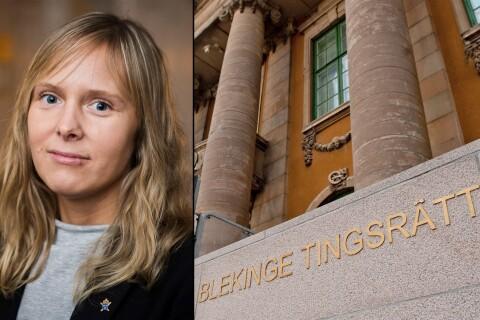 """Åklagare delade SD-kritik – advokaten: """"Är inte lämplig"""""""