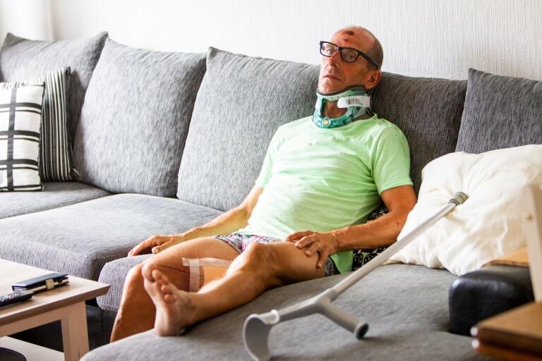 Efter smitningsolyckan – cyklisten hemma från sjukhuset