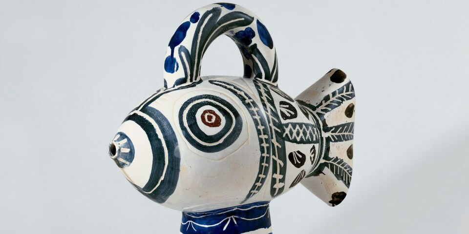 """Pablo Picasso: """"Fisk"""" (1951)"""
