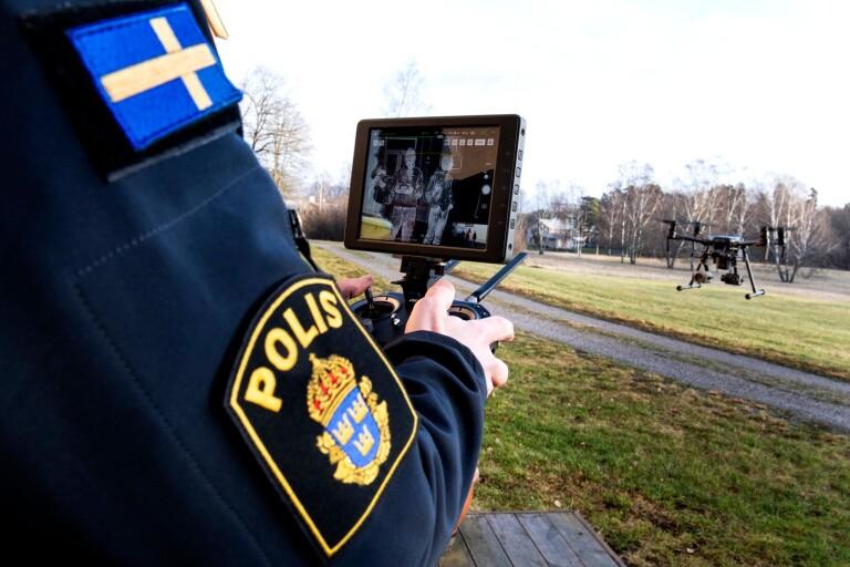 Polisen ska övervaka hela Växjö centrum med drönare – för att stoppa personrånen