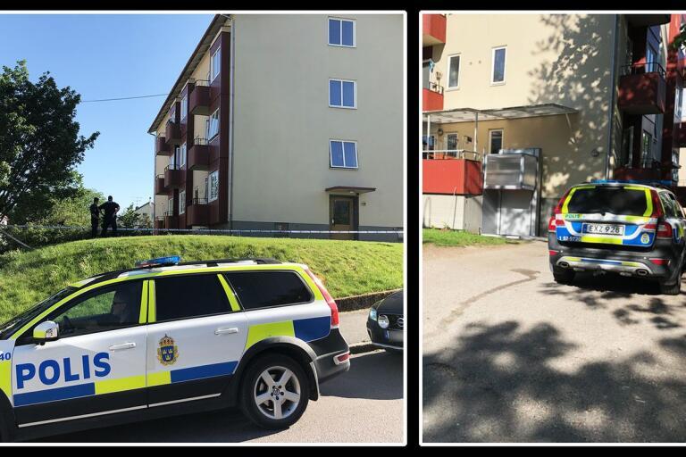 Brott: Mordförsök i Borås – man skadad i bålen