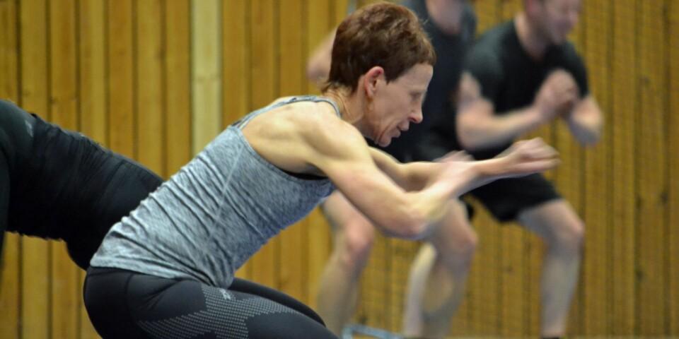 Ingrid Engstrand Johansson håller i cirkelträningen en gång i veckan. Hon är lite av veteran och definitivt traditionsbärare.