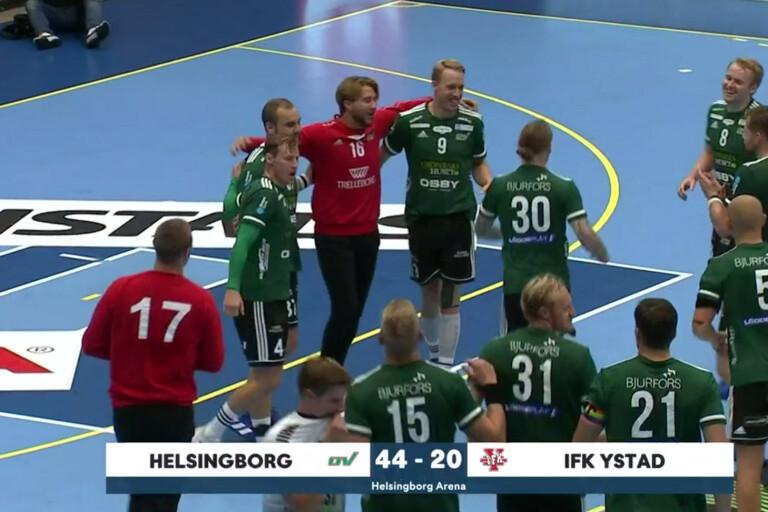 Ett historiskt ras för IFK Ystad