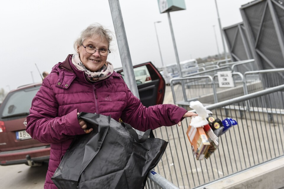 """Susanne Stjernholm says: """"I think people will need to collect it so that it's only twice a month. But I don't like fines."""