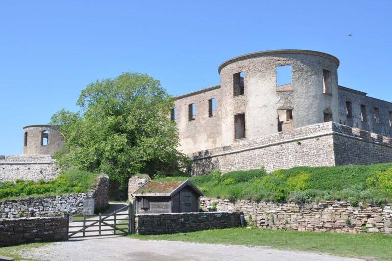 Digital guide till utställning på slottet