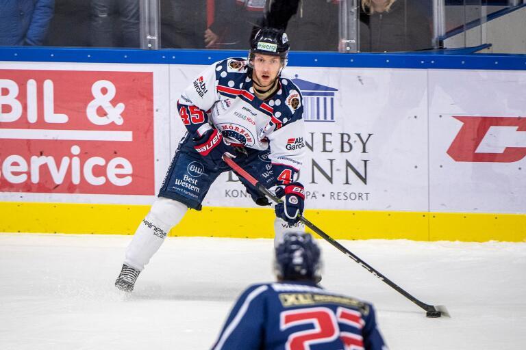 Hampus Henriksson gjorde ett av Mörrums två mål.