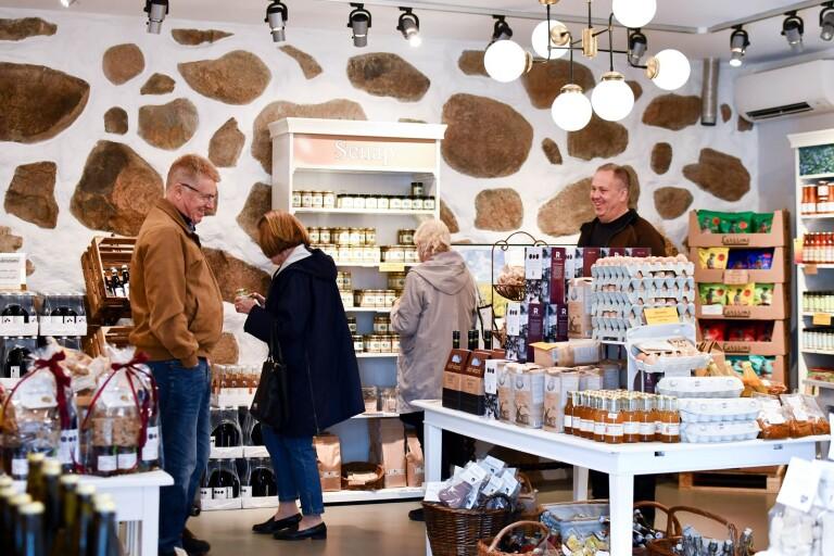 Lokalt är den självklara affärsidén på Petersborg