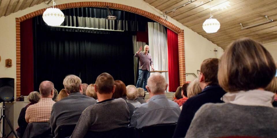 Östra Tommarps föreläsningsförening ställer in höstens föreläsningar. Arkivbild.