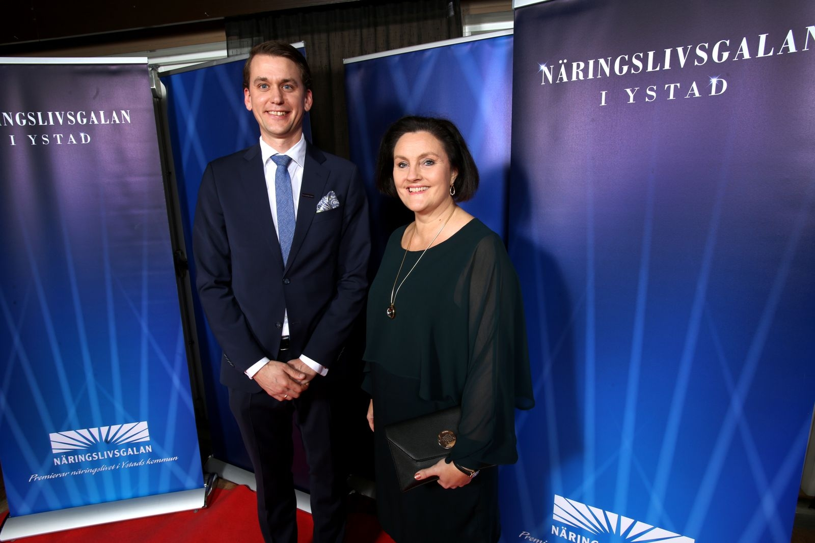 Olof Wassberg och Mia Kristell, Handelsbanken