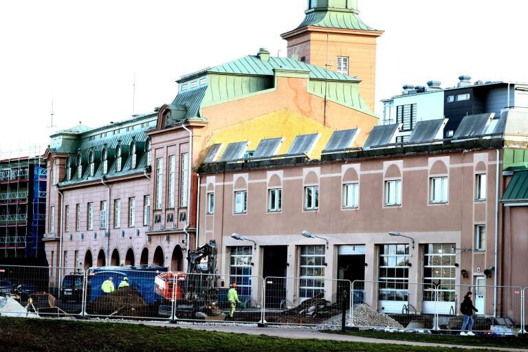 Glebes köpte brandstationen av Kalmar kommun för att göra om till bland annat bostäder.